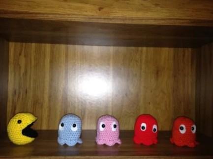Pac Man Ghosts