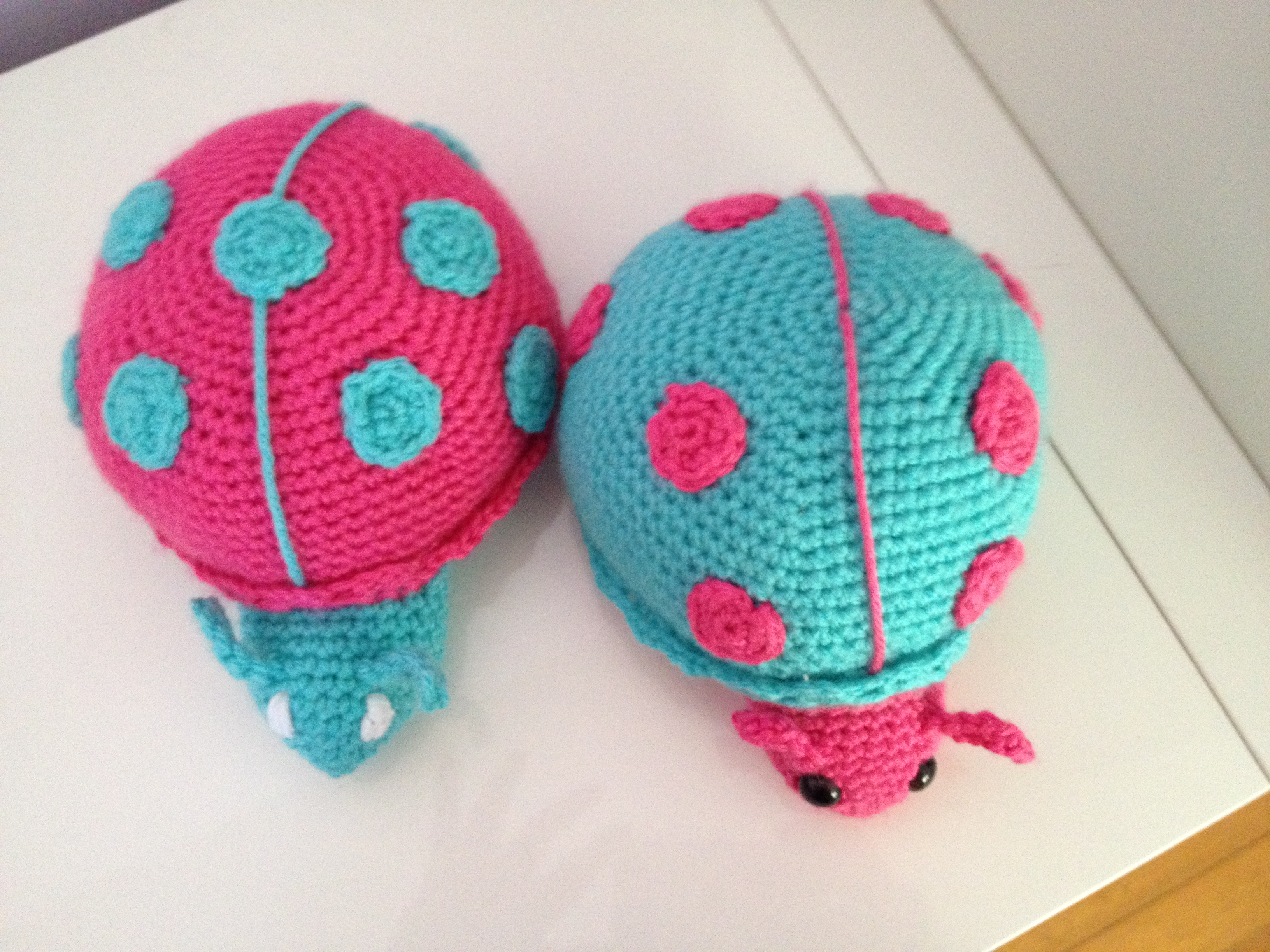 June the lady bug gets a color update