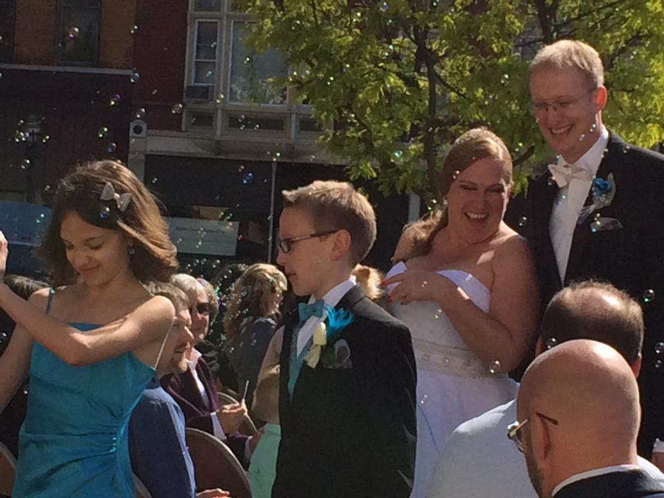 Wedding is over