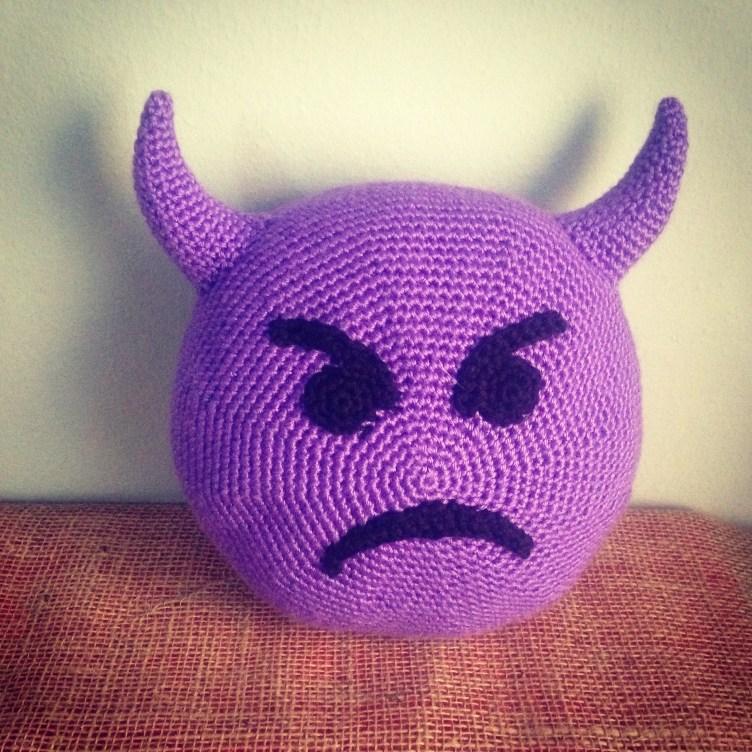 Crochet Emoji Imp