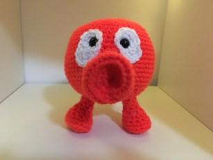 Q-Bert Crochet Pattern