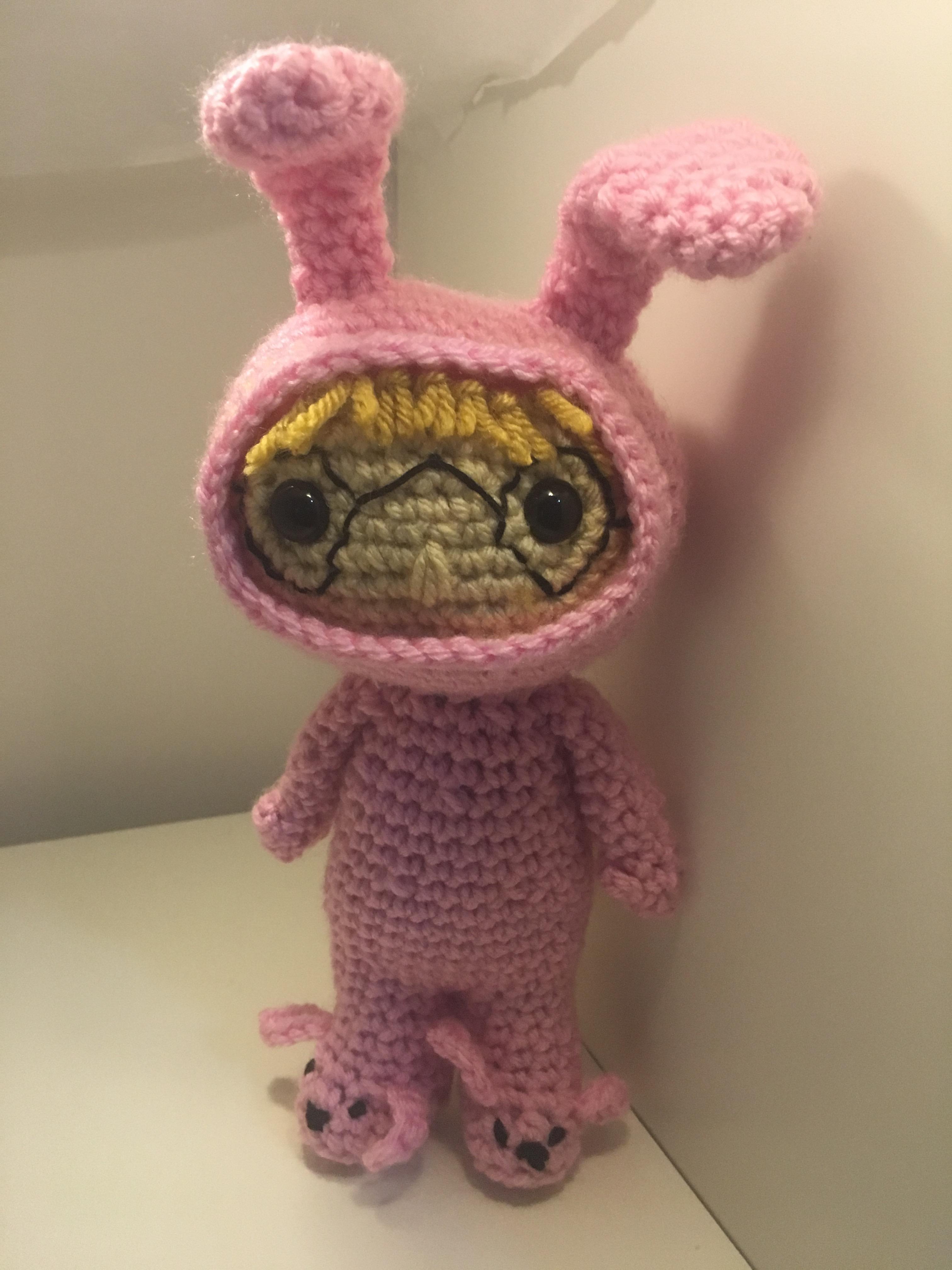 Bunny Suit Ralphie – Free Pattern