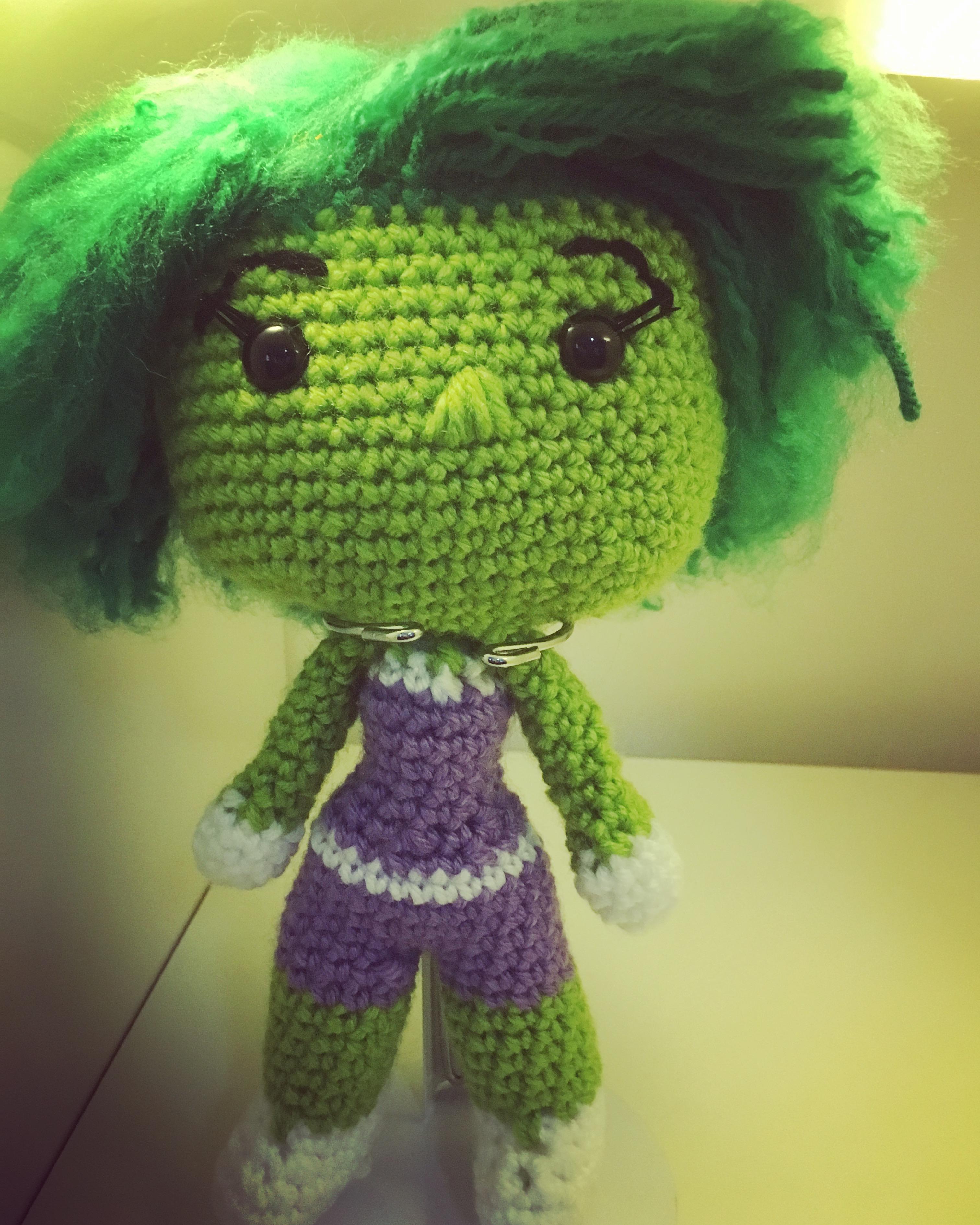 She-Hulk Free Pattern
