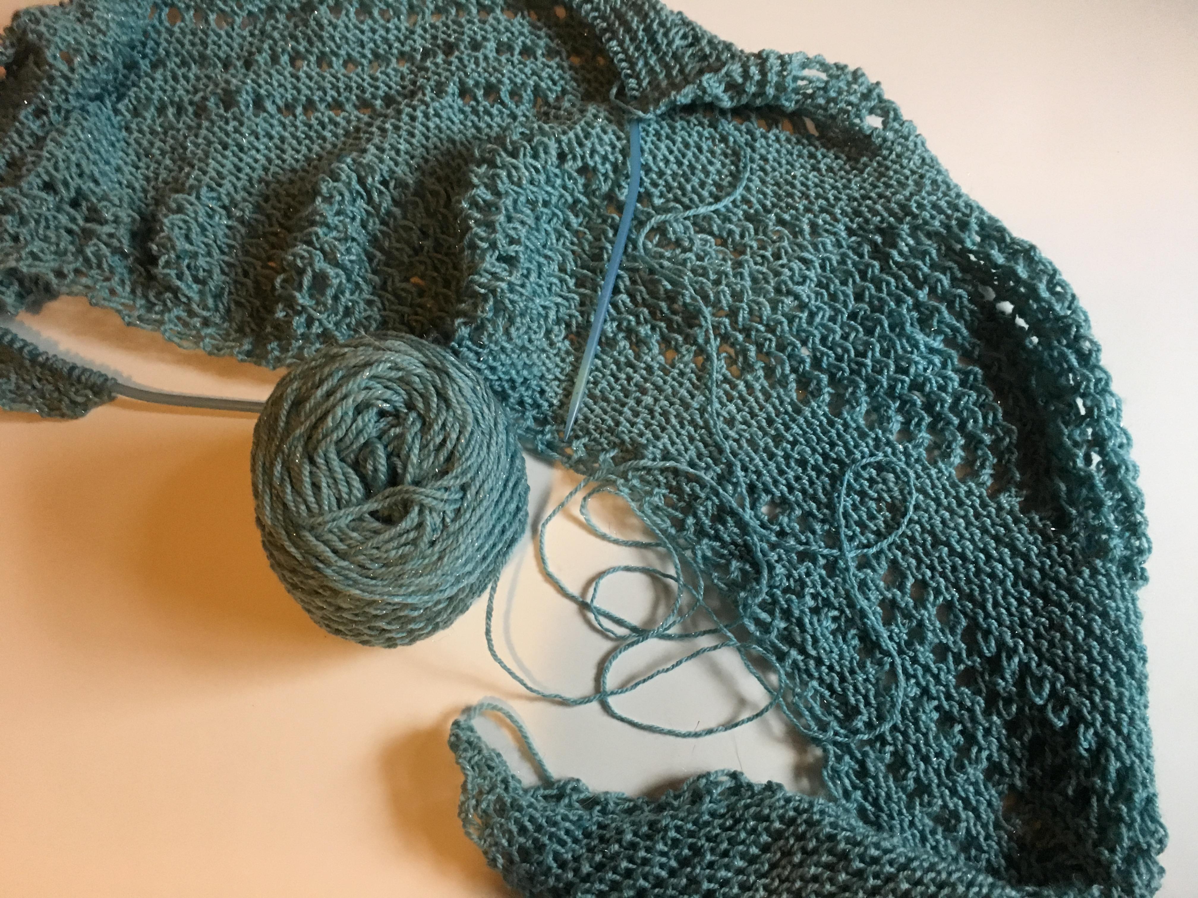 Knitting this week