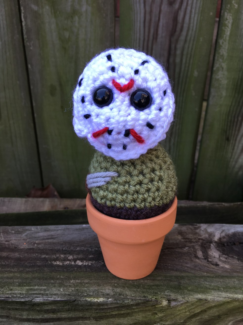 Crochet Jason Voorhees Mini