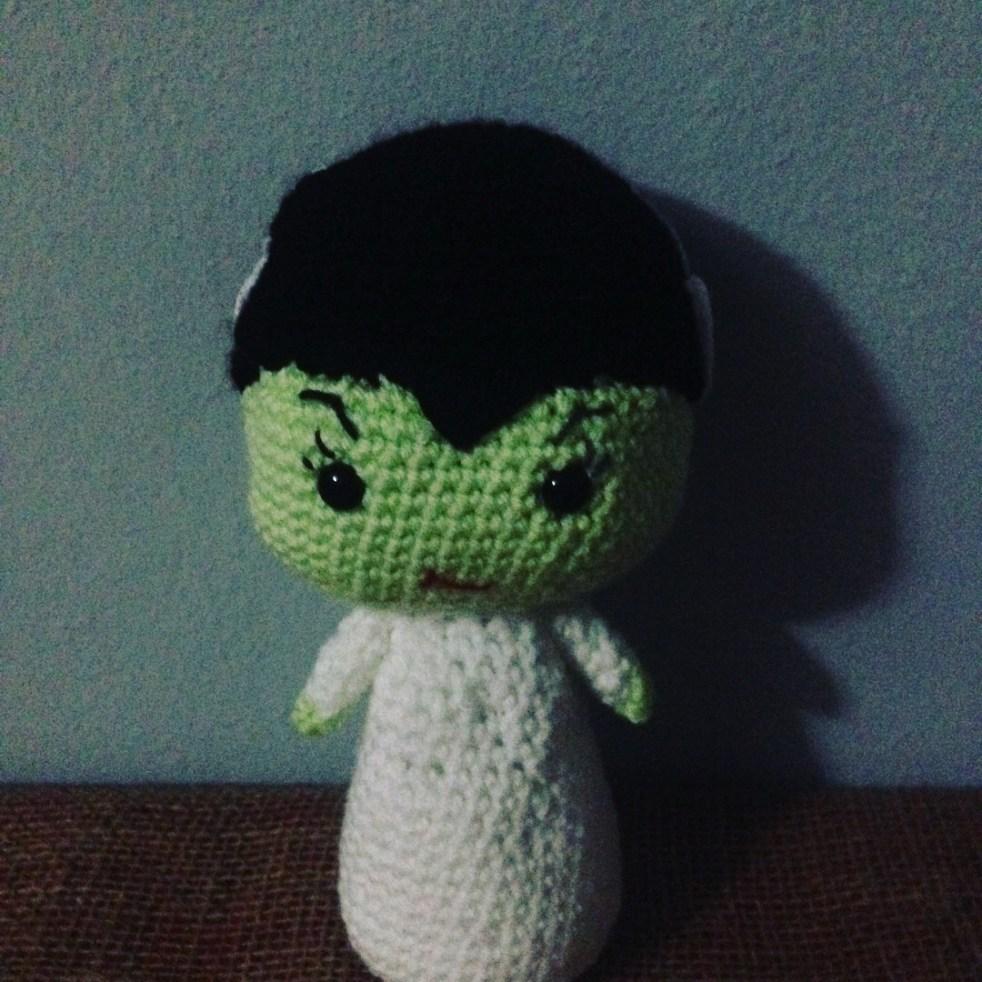 Drunken Aunt Wendy Bride of Frankenstein Crochet