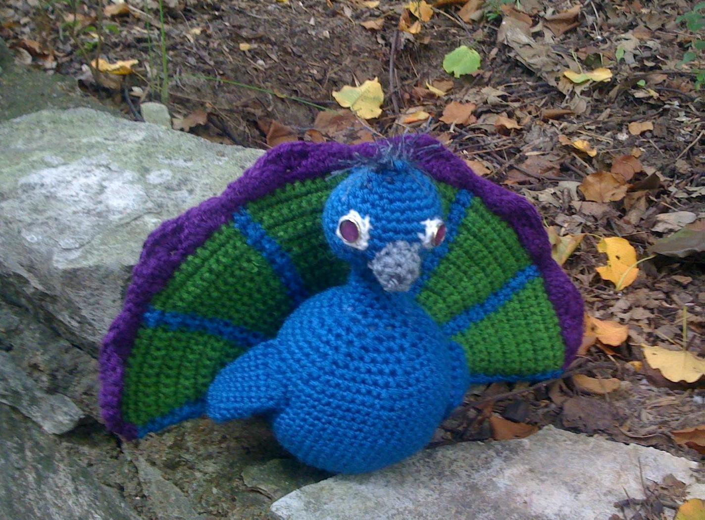 Percy the Peacock – Free Pattern