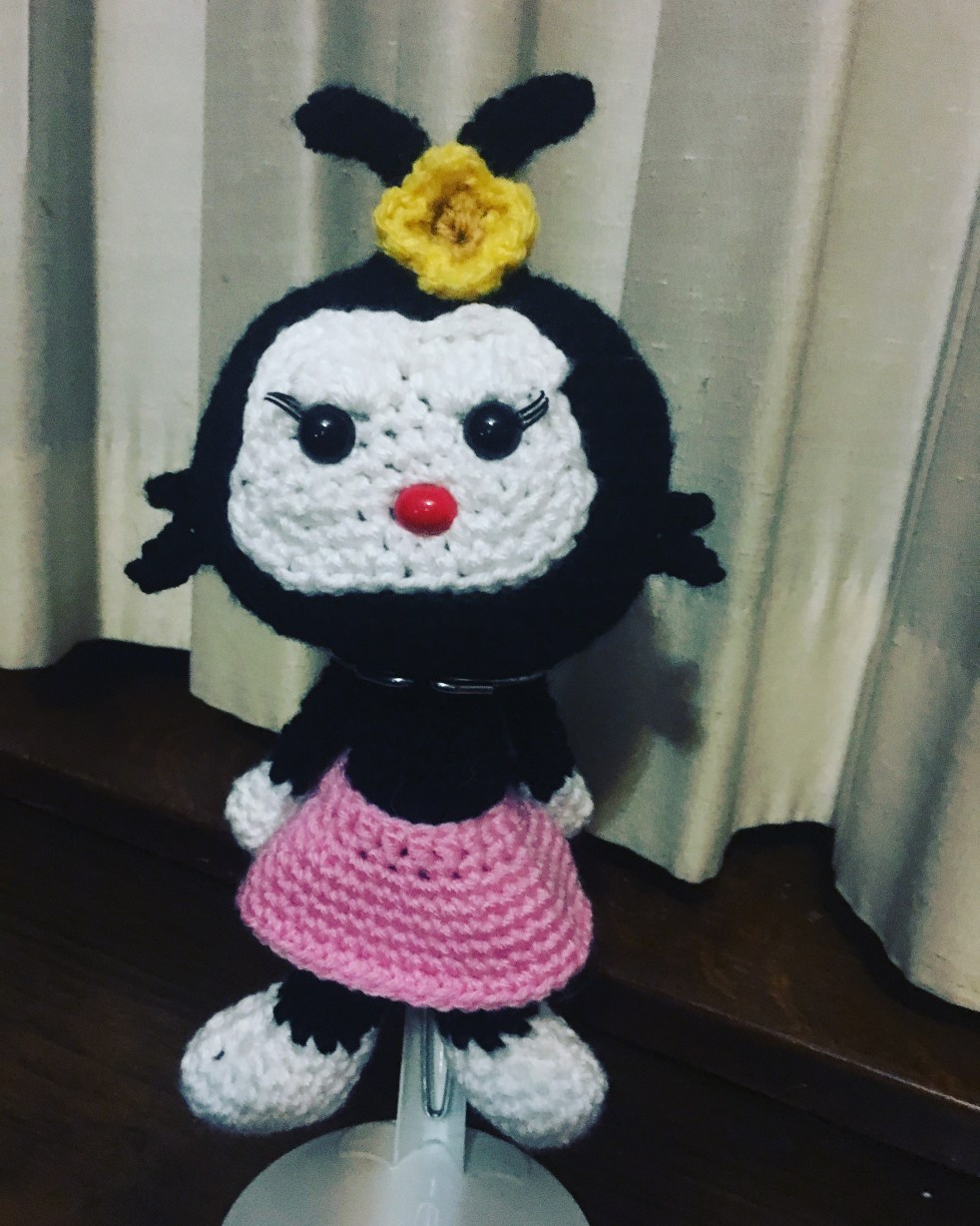 Crocheted Dot from Animaniacs