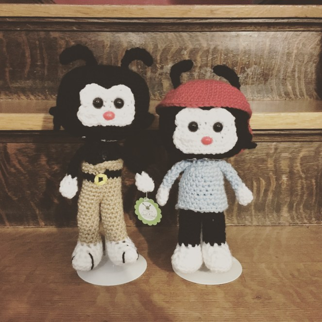 Crocheted Animaniacs