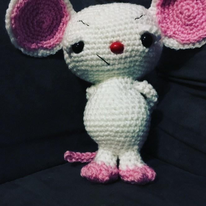 Brain Free Crochet Pattern Drunken Aunt Wendy