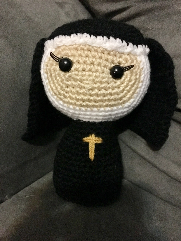 Crocheted Nun pattern