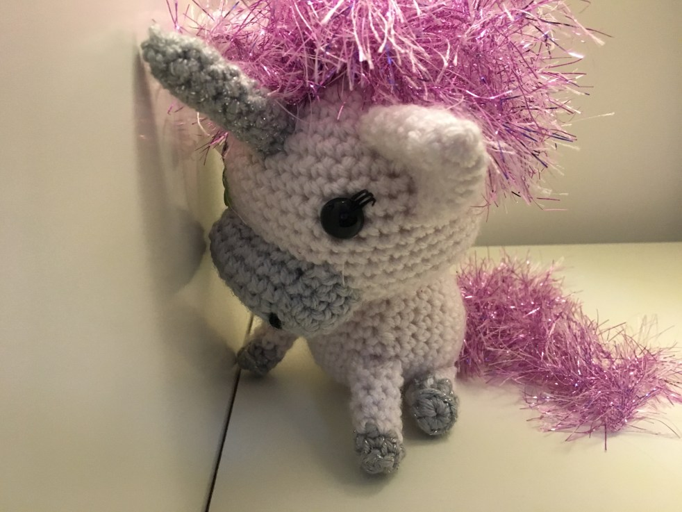 Crocheted Unicorn Pattern