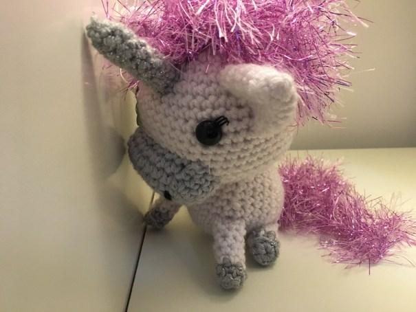 Crocheted Unicorn Pattern