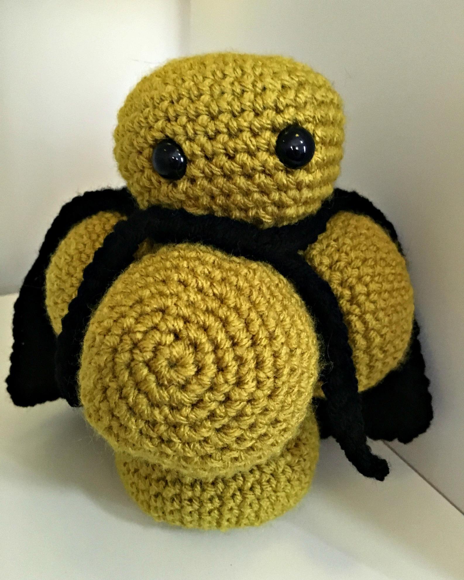 Free Crochet Pattern – Mr. Sa – the Superbug, MRSA