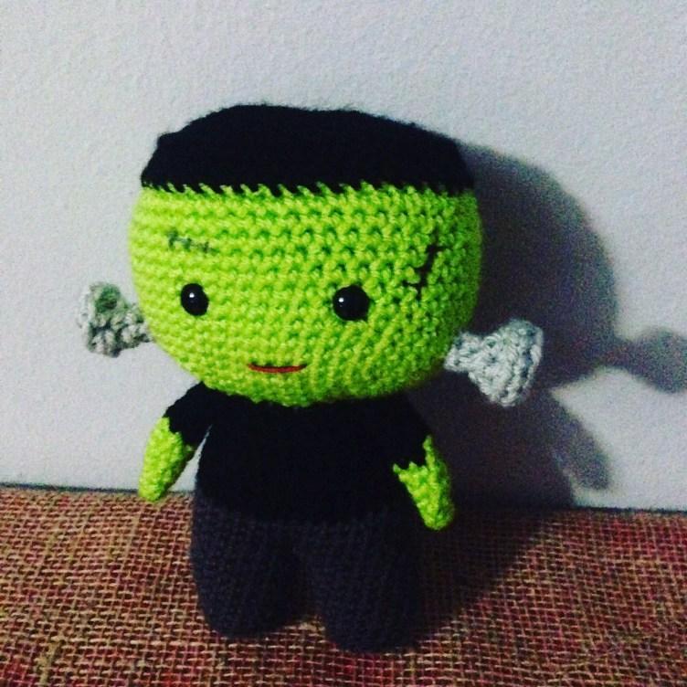 crochet frankenstein
