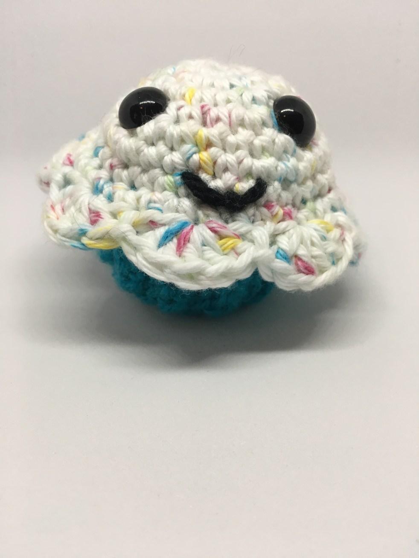 Crochet Cupcake Drunken Aunt Wendy