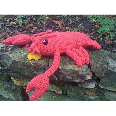 Crocheted Lobster Pattern Drunken Aunt Wendy
