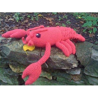 Crocheted Lobster Pattern Drunken Aunt Wendy