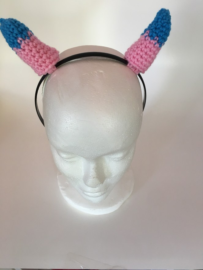 Crocheted Horn Headbands