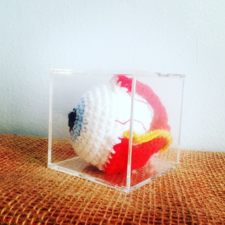 Pattern for a Crocheted Eye