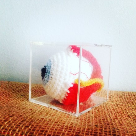 Pattern for a Crocheted Eye