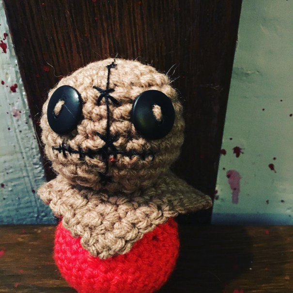 Free Crocheted Sam from Trick or Treat