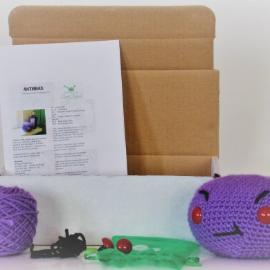 Crochet Anthrax kit