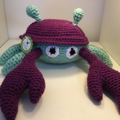 Crocheted Crab
