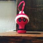Crochet Deadpool Ornament