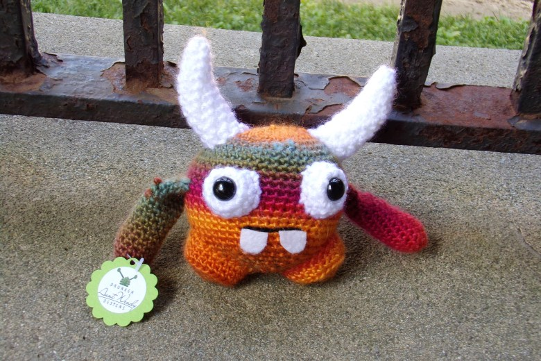 Crochet Plush Monster