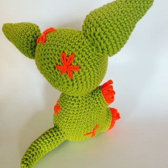 Crocheted Aardvark Pattern