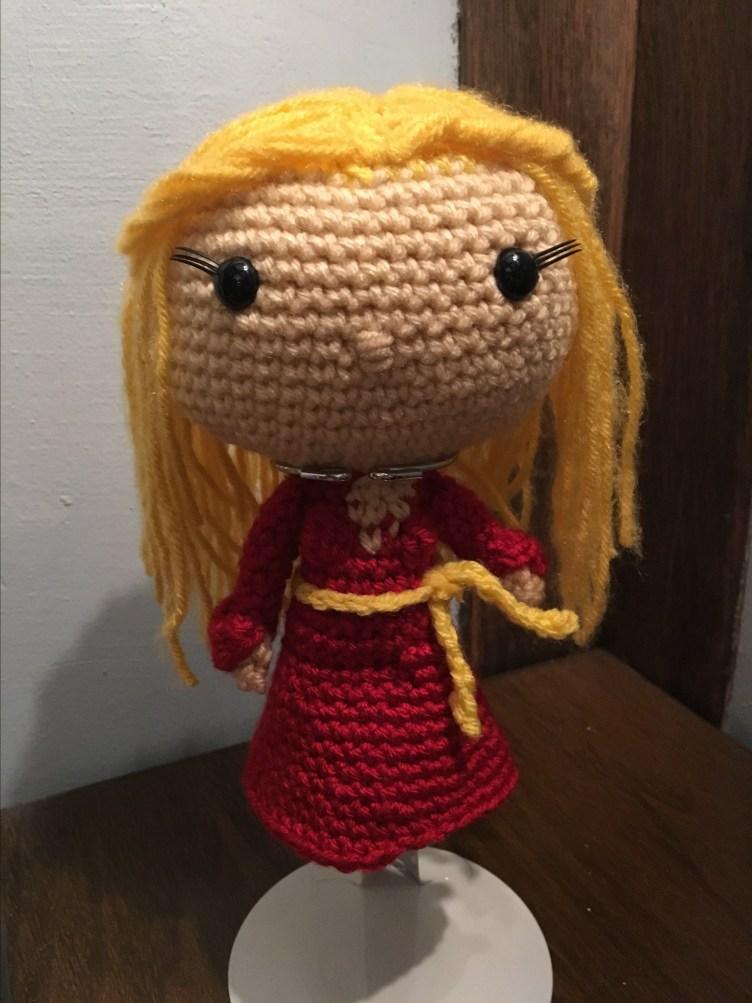 Crochet Pattern for Princess Buttercup