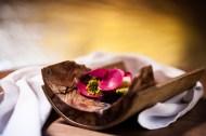 Bild Gang Apfel-Rose von Matthias Schmidt für Steinbeisser's Experimentelle Gastronomie in Frankfurt 2014