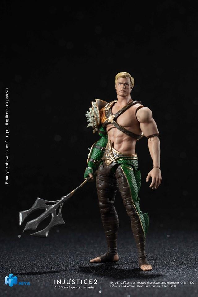 "Hiya Toys DC Comics Injustice 2 Green Lantern 3.75/"" Action Figure 1:18 Scale"
