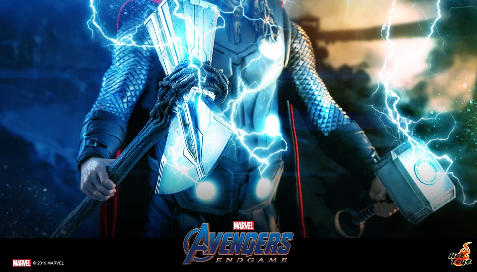 Hot Toys Tease Avengers Endgame 1 6 Scale Fat Thor Figure Drunkwooky Com