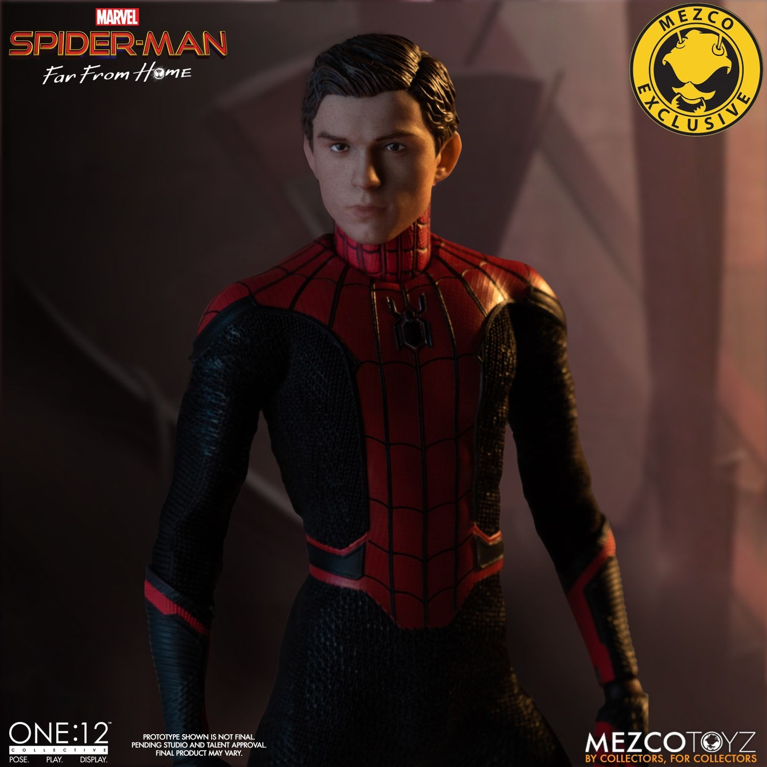 Marvel Spider-Man Far From Home Stealth Suit One:12 Figure Mezco PX New 2020