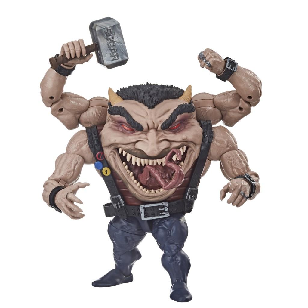 Marvel Legends marvels Leader with abomination baf in hand