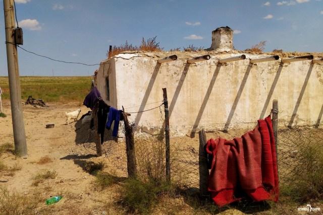 Домик пастуха. Казахстан.