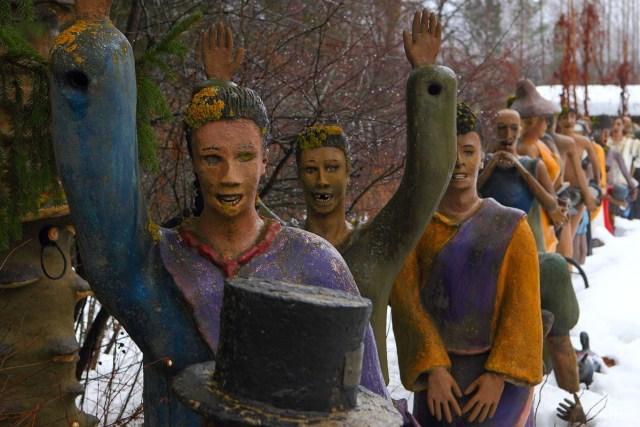 Парк параноидальной скульптуры