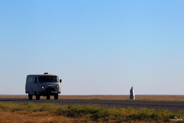 Казахстан. Шымкентский тракт