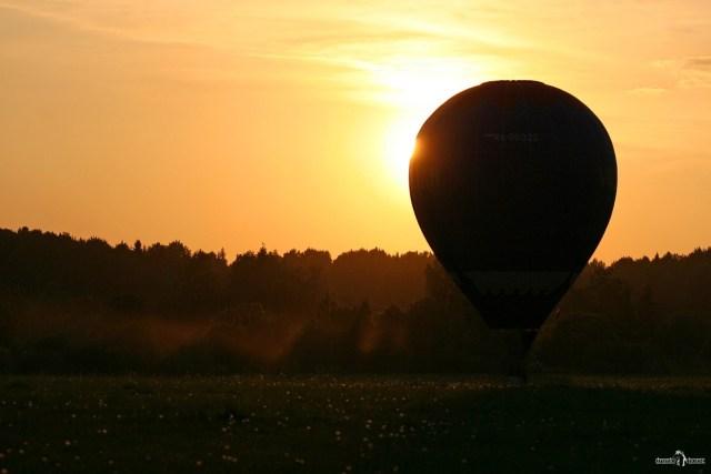 Полёт на воздушном шаре. Саломон Андре