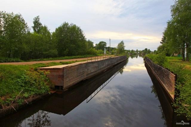 Старый шлюз Мариинского канала. Вытегра