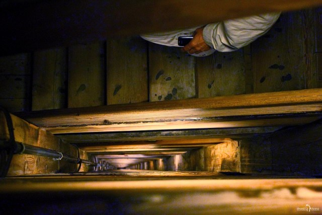 Копи Велички. Лестница в копи