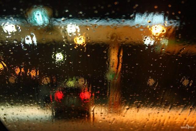 Хендай ай 30 - отзыв Капли дождя на лобовом стекле