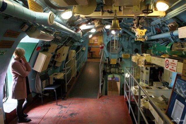 Подводная лодка в Вытегре. Носовой отсек