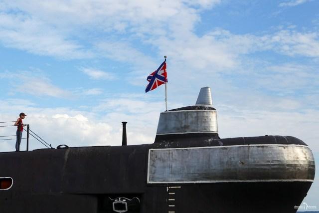 Подводная лодка в Вытегре Б-440
