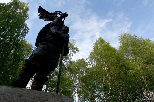 Вытегра. Памятник. Н.А. Клюеву