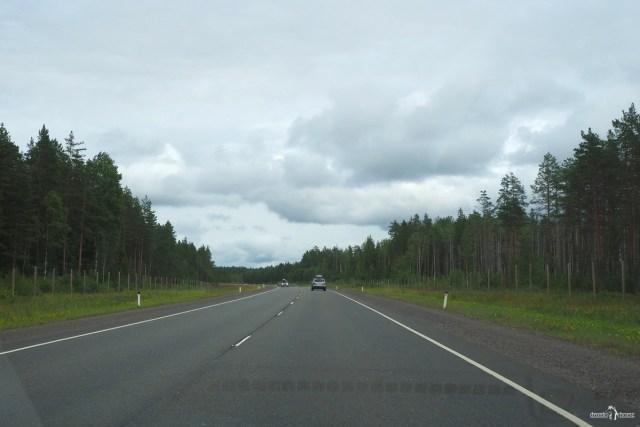 На авто в Кузомень и Териберку