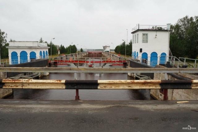 Мост через шлюз № 19 и Шижню
