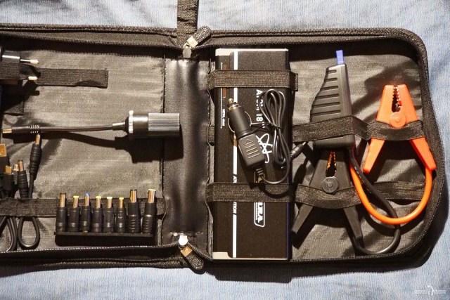 Портативное пусковое устройство с аксессуарами